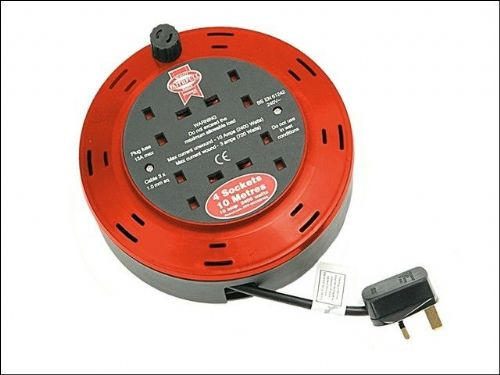 EXTENSION CABLE REEL CASSETTE 10MT FPPCR10M10A